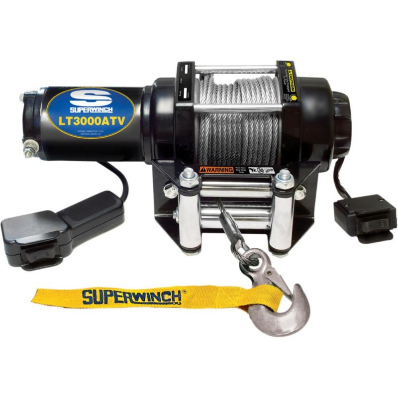 Vints SUPERWINCH 3000lb 1361kg terastrossiga